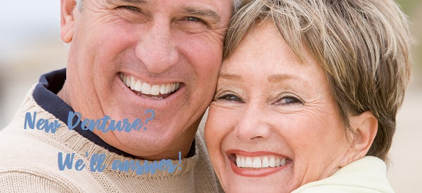 8 Most Common Questions about Your New Denture